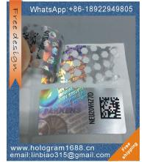 Buy cheap Custom logo 3d honeycomb pattern  hologram sticker, tamper evident void hologram sticker label from wholesalers