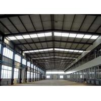 Buy cheap Metal  Construction Prefabricated Factory Buildings for  Warehouse  Light Steel Structure from wholesalers