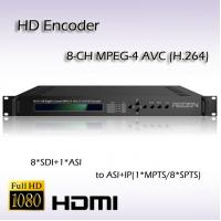 Buy cheap SD/HD-SDI TO ASI&IP Eight-Channel MPEG-4 AVC/H.264 HD IPTV System Encoder REH2208 from wholesalers
