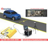 Buy cheap Mobile Under Vehicle Surveillance System IP 68 Waterproof Function from wholesalers