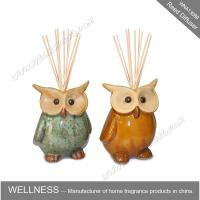 Wholesale Cute colorful animal shaped ceramic reed diffuser for home decoration from china suppliers