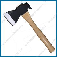 Wholesale claw hatchet with wooden handle with clear lacquer coating, claw axe supplier from china, wood working axe from china suppliers