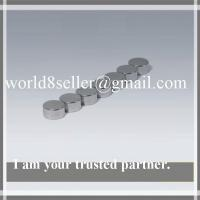 Buy cheap Strong Flat Neodymium Disc Magnets for Motors Plated Zinc / Nickel from wholesalers