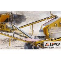 Buy cheap High Efficiency 50TPH Stone Cone Crushing Plant for Making Aggregate from wholesalers