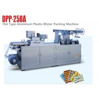 China Step Motor Alu Plastic Automatic Blister Packing Machine Tablet Blister Machine on sale