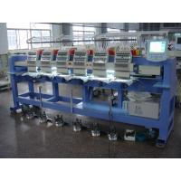 Buy cheap Low Noise Six Heads Cap Embroidery Machine , Embroidery Hat Machine / Equipment Sunwing Ct1506 from wholesalers