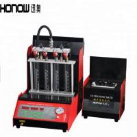 Buy cheap OEM Iron Fuel Injector Tester And Cleaner Nozzle Test Equipment For Car from wholesalers