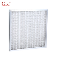 Buy cheap F8 F9 0.97m2 Cleanroom Air Filter With Synthetic Fiber Aluminum Frame from wholesalers