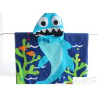 Buy cheap Different Style Boys Towel Poncho , Kids Swimming Towels With Hoods from wholesalers