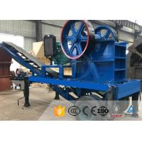 Buy cheap Diesel Engine Mobile Stone Crusher Plant High Capacity Mining Jaw Crusher from wholesalers