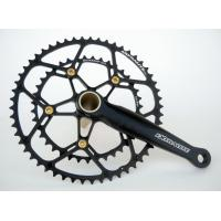 Buy cheap 7075 Aluminum Alloy Highway Compression Crankset/ Highway Platter 53/39T Bike Gear from wholesalers
