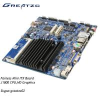 China Industrial Grade Fanless Motherboard Dual Core J1800 CPU , LVDS HDMI VGA Display on sale