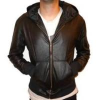 Wholesale 60 XXXL soft thin 100% sheepskin leather jacket for men / warp knit fabric for autumn from china suppliers