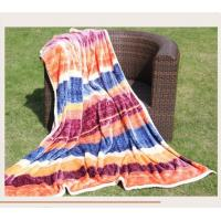 Buy cheap Soft Weave Polyester Throw Blanket Posh Pelts MTW3507A With Woven Technics from wholesalers