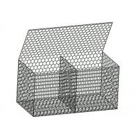 Buy cheap Triple Twist Wire Gabion Baskets Corrosion Resistance Apply To Flood Protection from wholesalers