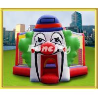 Buy cheap Clown Pattern Inflatable Bouncing Castle / Playhouse For Rental Anti - UV from wholesalers