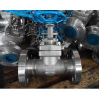 Buy cheap A105 High Pressure Forged Gate Valve Threaded / Butt Weld / Socket Weld End from wholesalers