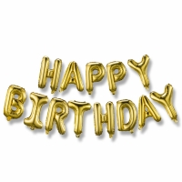 Buy cheap Party Metallic Letter Shaped Balloons For Birthday from wholesalers