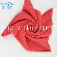 Buy cheap HUIJIE Supplier MIcrofiber Hand Towel Red color Microfiber Cleaning Cloth FOR Home use from wholesalers