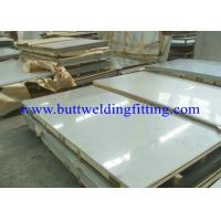 Buy cheap ASTM B443 AMS 5599 BS3072 Stainless Steel Plate SGS / BV / ABS / LR / TUV / DNV / BIS / API from wholesalers