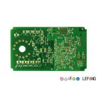 Wholesale Immersion Gold Fr4 Copper Clad Circuit Board PCB 2 Layers For Security Equipments from china suppliers