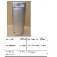 Buy cheap US Beer Barrel 1/6 beer keg for Draught Beer and Cider product
