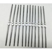 Buy cheap SKD61 Material Flat Square Head Straight Ejector Pins With 52HRC from wholesalers