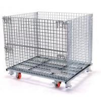 Wholesale Collapsible Storage Cage/Stackable Wire Mesh Container from china suppliers
