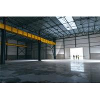 Buy cheap Modern Industrial Steel Frame Structure Workshop Buildings With Overhead Crane from wholesalers