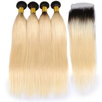 Buy cheap 100% remy Unprocessed Full Head curly human hair extensions For White Women from wholesalers
