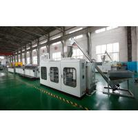 China Customized Color WPC Profile Machine 300KG/H Capacity For Wpc Door Frame WPC Profile Machine on sale
