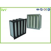 Buy cheap Efficiency H10 - H14 Clean Air Hepa Filter For Central Air Conditioning from wholesalers