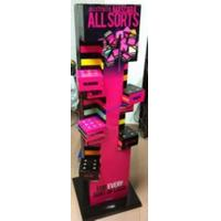 Buy cheap Mix material  cosmetic display stand for brand marketing supplier from wholesalers
