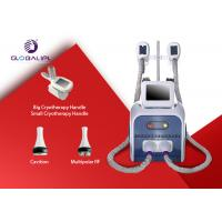 Buy cheap 3 In 1 System Fat Removal Cryolipolysis Machine With 8.4 Inch Color Touch Screen Display from wholesalers