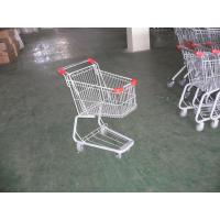 Children Grocery Shopping cart 45L With color powder coating and colored plastic parts