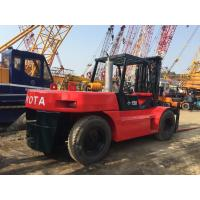 Buy cheap Triple Mast Japanese Used Diesel Forklift 15 Ton Toyota FD150 1.8m Length from wholesalers