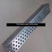 Buy cheap Perforated metal corner bead from wholesalers