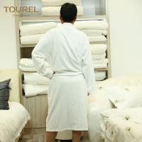 Buy cheap Hotel Mattress Protectors White Luxury Towelling Bathrobe Terry Cloth Spa Robe from wholesalers