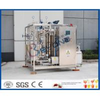 Buy cheap Uht Milk Products Milk Pasteurizer Machine / Htst Pasteurizer Milk Pasteurization Plant from wholesalers