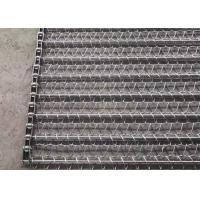 Buy cheap 316 Ss Food Grade Balanced Weave Conveyor Belts For Vegetables Dehydrated Oven from wholesalers