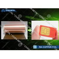 Buy cheap 6μm Ultra Thin Copper Foil Roll RA , Decorative Copper Foil shielding product