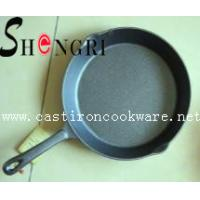Buy cheap cast iron frying pan with short handle from wholesalers