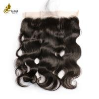 Buy cheap 13 * 4 Inches Full Lace Frontal Closure All Colors Hand Tied 130 % Density from wholesalers