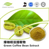 China Comext Supply Green Coffee Bean Extract 50% Chlorogenic Acid Yellow Brown Powder on sale