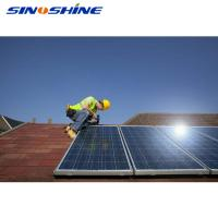 Buy cheap SINOSHIINE 10kw solar system on grid solar panel system 2kw-20kw with best price product