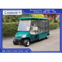 Buy cheap With roof Electric Cargo Truck with Stainless Steel Cargo Box 3kW DC Motor 2 from wholesalers