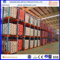 Buy cheap Widely Used Metallic Drive in Pallet Racking High Quality / Pulling Through Rack from wholesalers