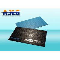 Buy cheap Spot UV PVC Custom Printed Cards business cards with Offset Printing from wholesalers