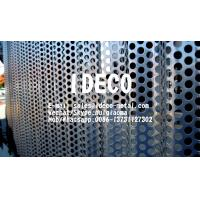 Buy cheap Architectural Corrugated Perforated Metal Panels, Radiused/Wavery Perforated Sheet Metal for Facade Claddings from wholesalers