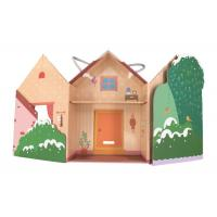 Buy cheap Romantic Paper Gift Packaging Box / Cardboard House Shaped Gift Box from wholesalers